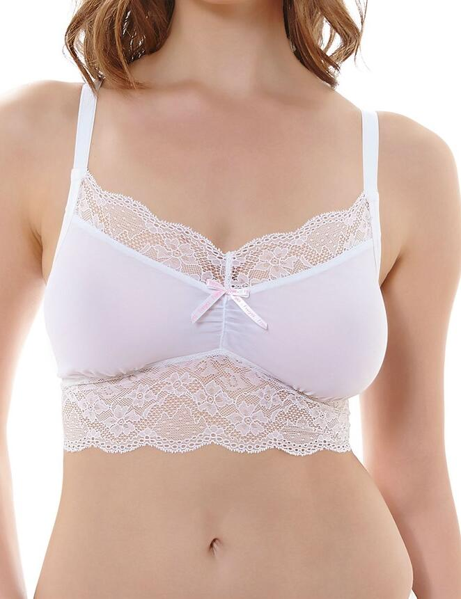 Freya Fancies : Bralette - White