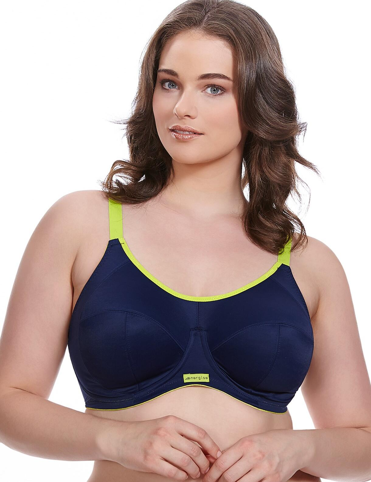 Elomi Energise : Sports Bra - Navy