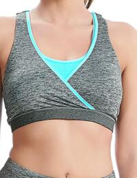Freya Active : Freestyle Sports crop Top - Carbon