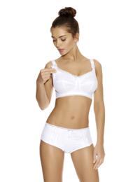 Freya Rosie : Soft Cup Nursing Bra - White