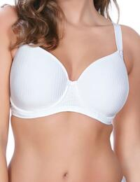 Freya Idol : Underwired Balcony Moulded Bra - White