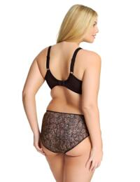 Elomi Morgan : Underwired Banded Bra EL4110 - Ebony