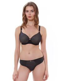 Freya Muse: Underwired Spacer Moulded Bra - Black