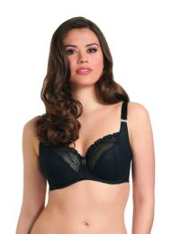 Freya Rio: Underwired Balcony Bra AA3510 - Black