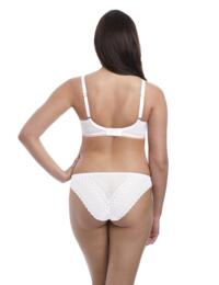 Freya Daisy Lace : Padded Half Cup - White