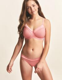 Royce Maisie : Non-wired T-Shirt Bra - Coral