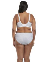 Elomi Morgan : Underwired Banded Bra EL4110 - White
