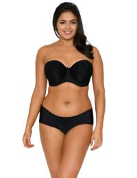 Curvy Kate Luxe : Strapless - Black