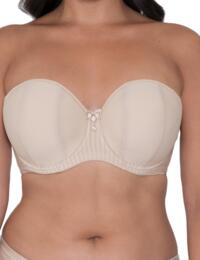 Curvy Kate Luxe : Strapless - Biscotti