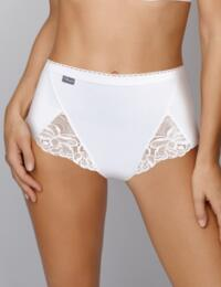 Playtex Cotton Feminine: Maxi Brief 3 Pack - White