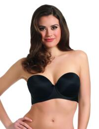 Freya Deco : Strapless Underwire Moudled - Black