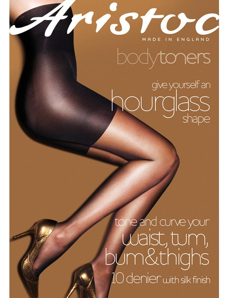Aristoc Bodytoners Waist, Bum, Tum & Thigh Tights  - Nude