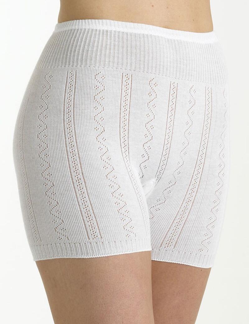 Brettles 100% Cotton Pantee - BUW018 - White