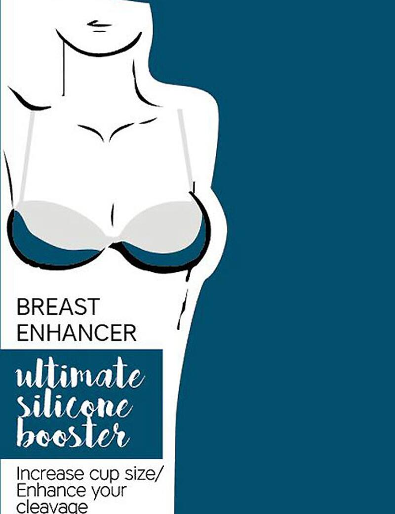 Eve's Bra Silicone Breast Enhancers - Clear