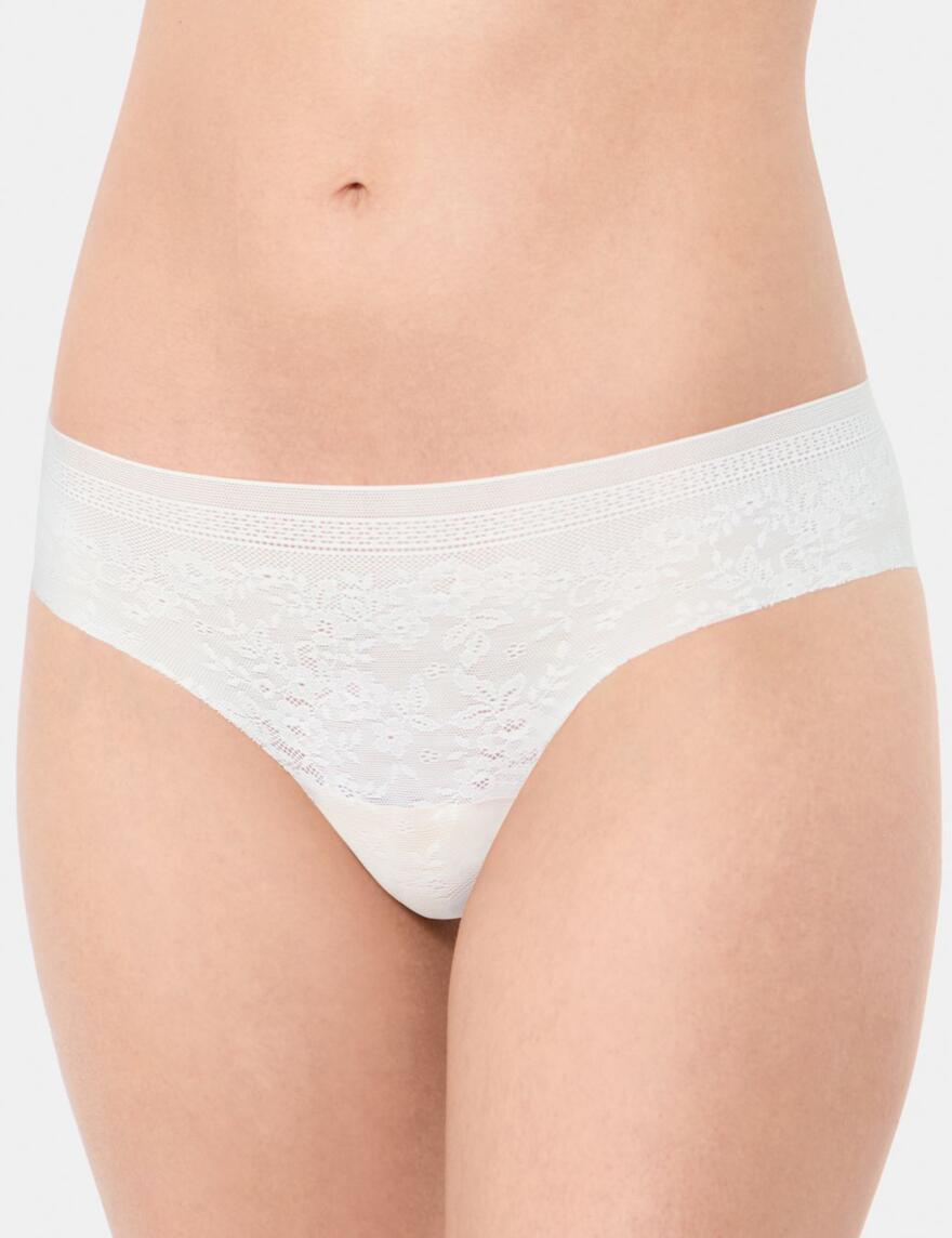 Sloggi Zero Lace Hipster - Silk White