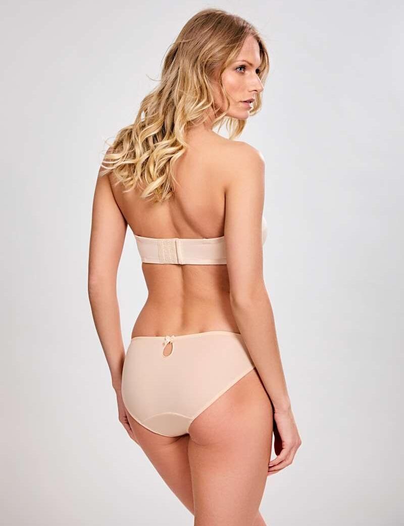 Panache Evie Balconnet Strapless Bra - Nude