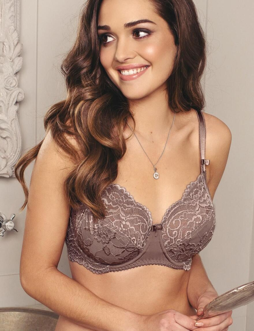 Pour Moi Eternal Side Support Bra - 3809 - Soft Mink