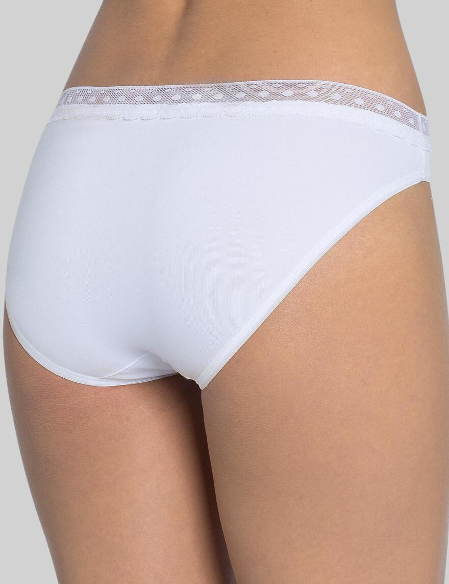 Sloggi Feel Pure Lace Tai - 2 Pack - White