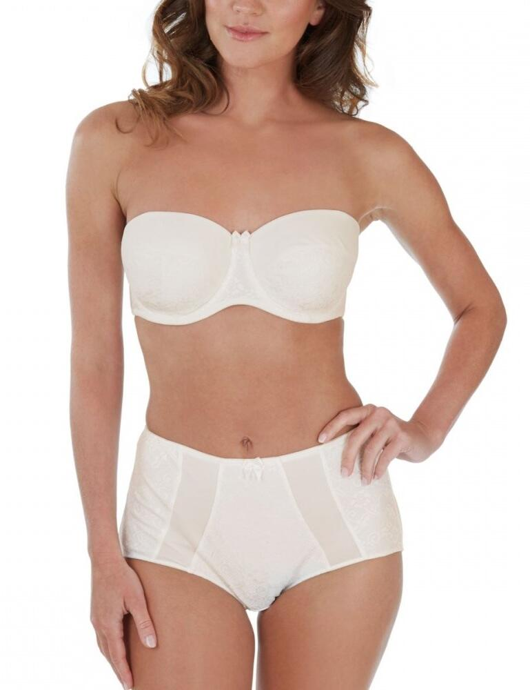 Charnos Superfit Lace Strapless Bra  - Ivory