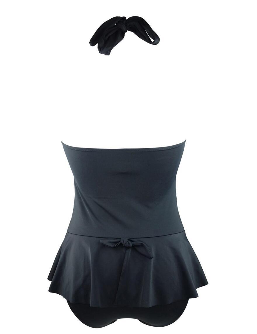 Pour Moi? LBB Skirted Swimsuit - 36009 - Black