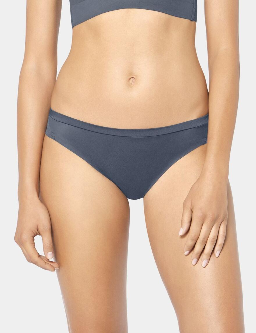 Triumph Body Make-Up Soft Touch Tai Briefs - Stormy Grey