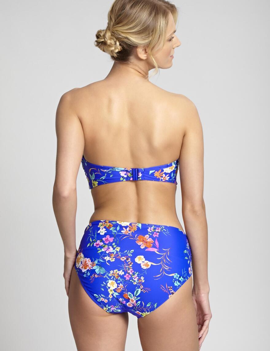 Panache Florentine Bandeau Bikini Top - Cobalt