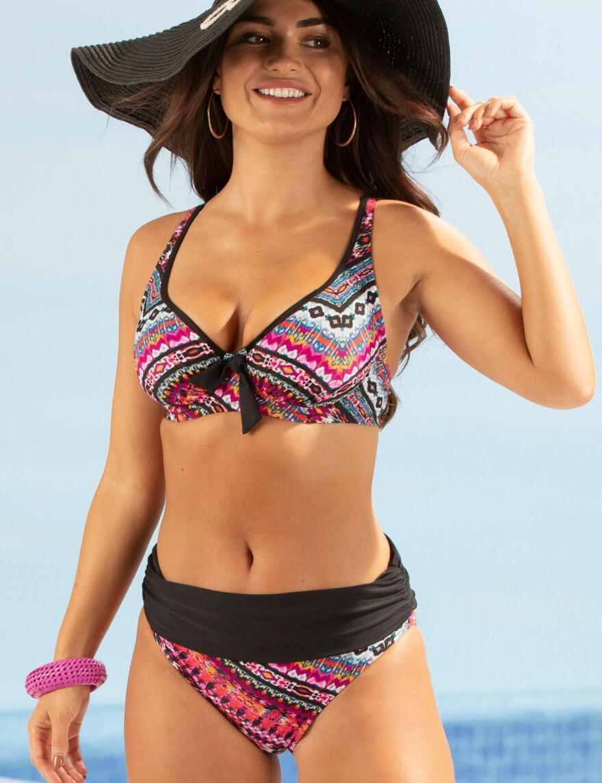 Pour Moi Odyssey Underwired Bikini Top - 15102 - Volcano