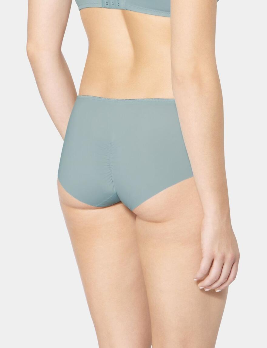 Triumph Essential Minimiser Hipster Brief - Sterling Blue (3683)