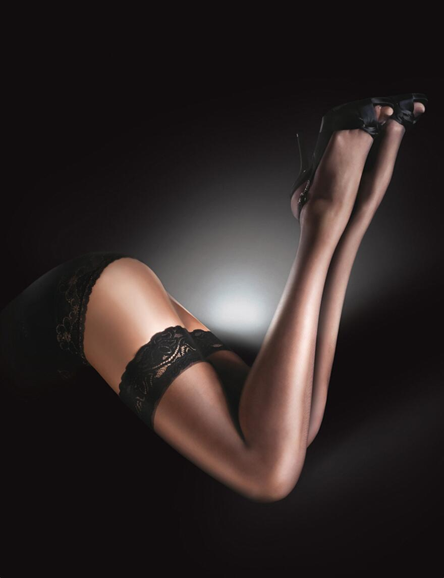 Aristoc Sensuous Hold Ups - Black