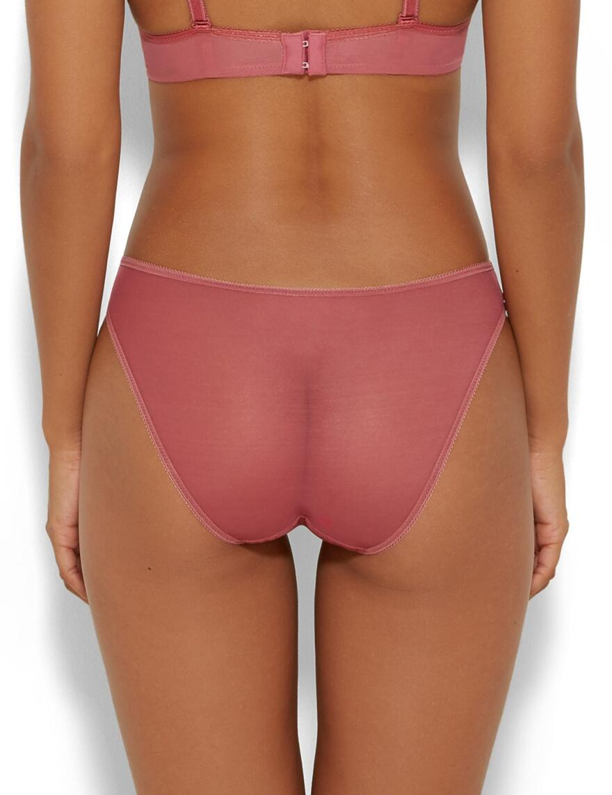 Glossies Lace Brief - Whisper Pink