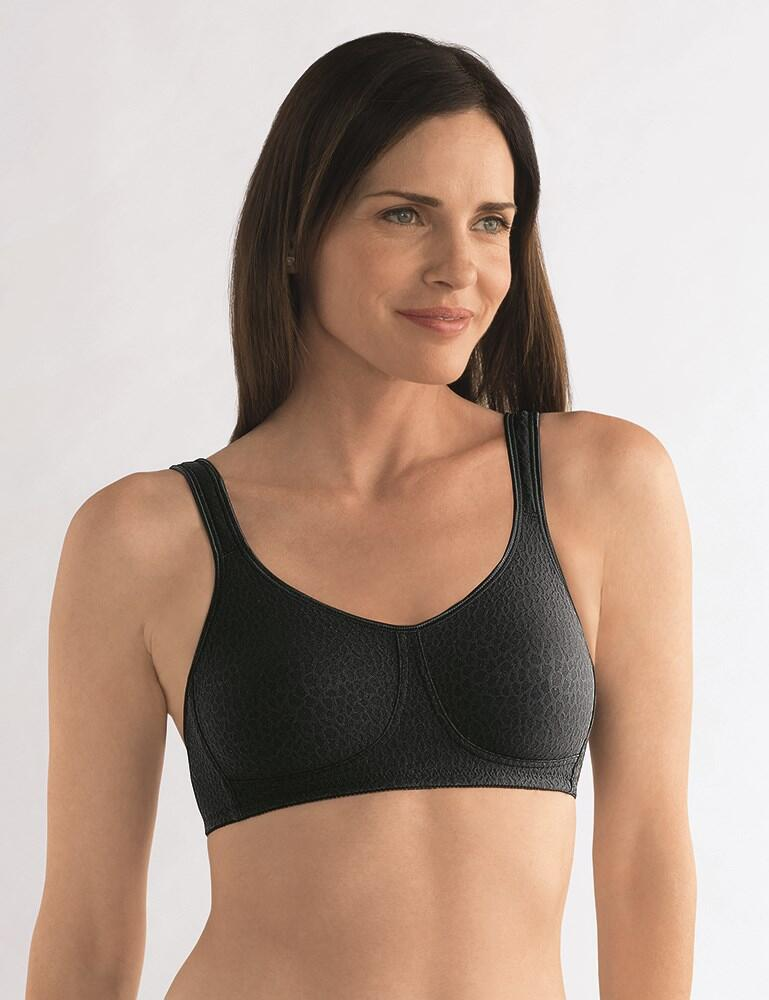 Amoena Mona Non Wired Soft Bra - Black