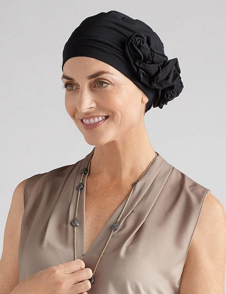 Amoena Marigold Turban - Black