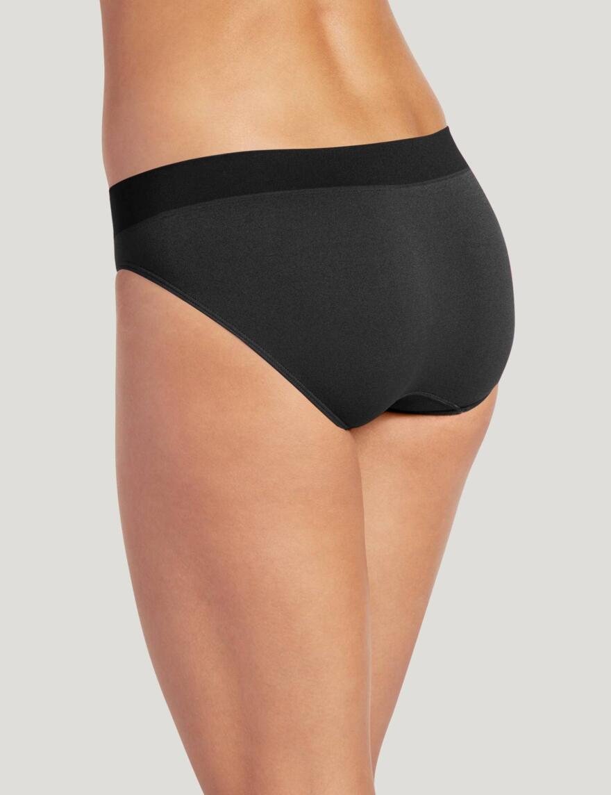 Jockey® Modern Micro Seamfree™ Bikini Briefs - Black