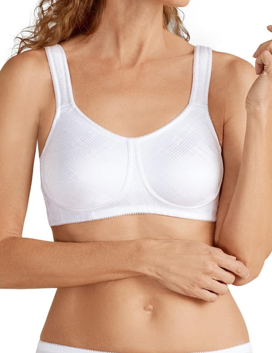 Amoena Dianna Non Wired Bra - White