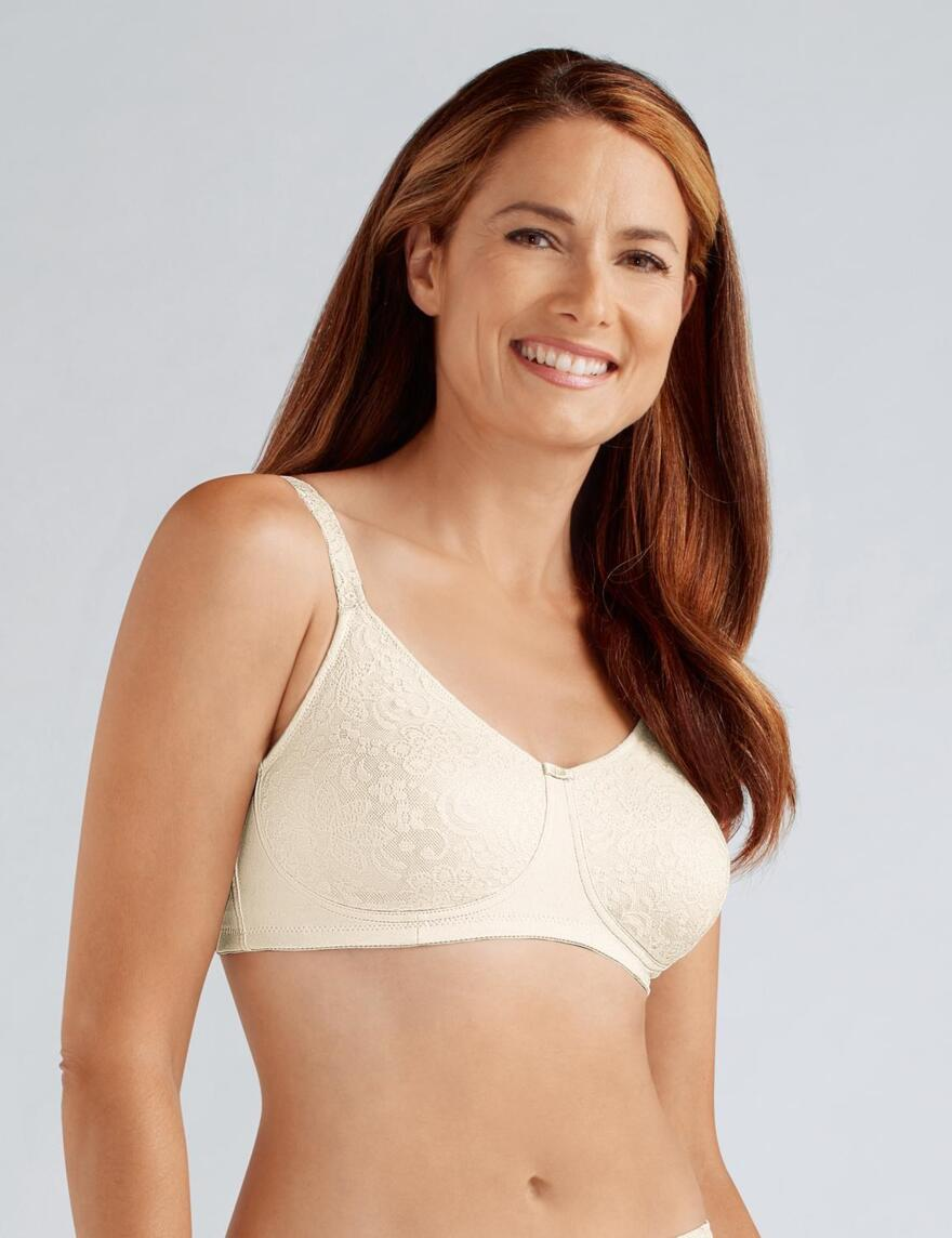 Amoena Annette Non Wired Pocketed Bra  - Off-White