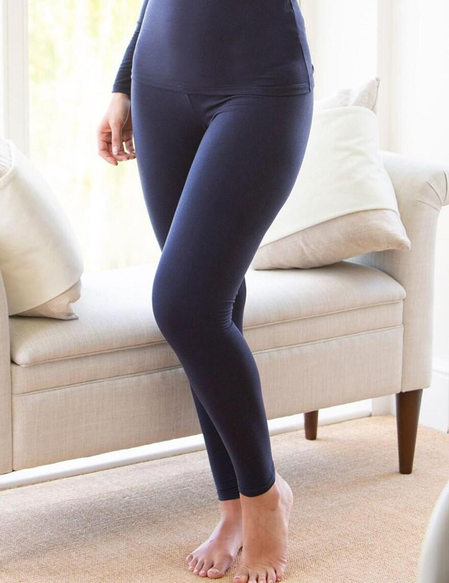 Charnos Second Skin Thermal Leggings - Navy