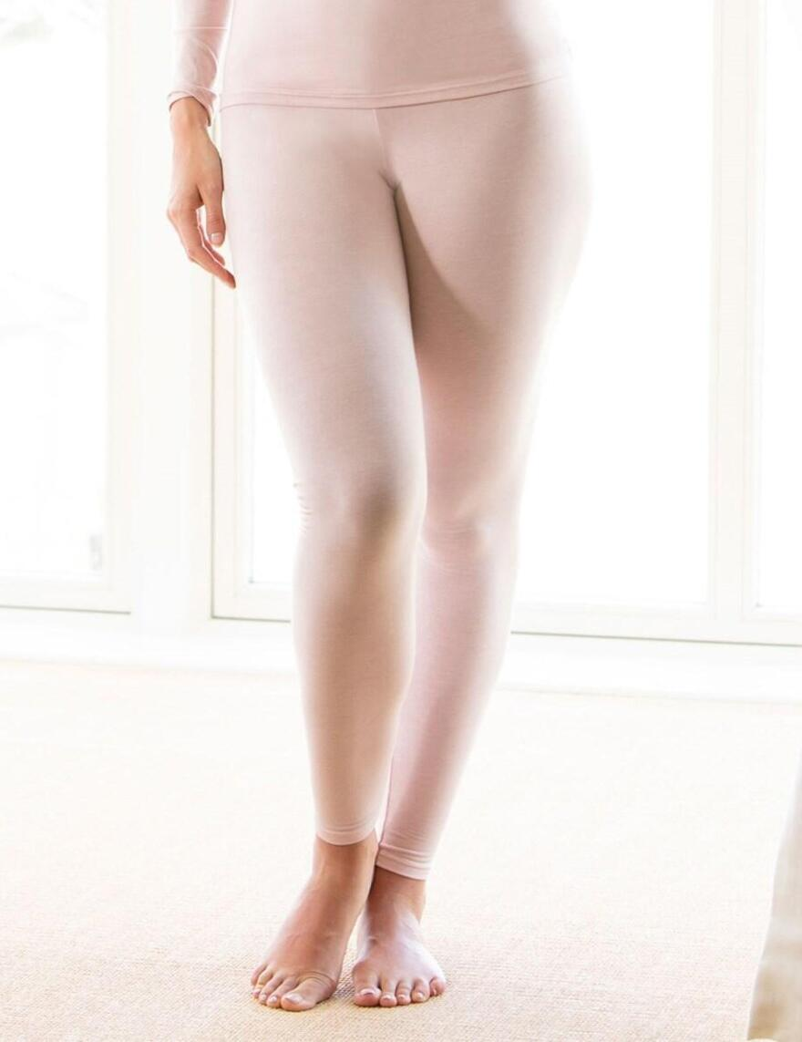 Charnos Second Skin Thermal Leggings - Pink