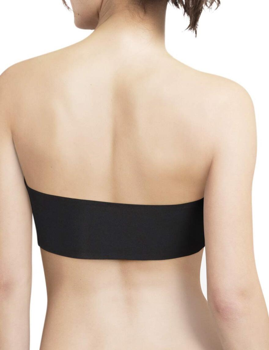 Chantelle Soft Stretch Padded Bandeau Bra Top -16A30 - Black