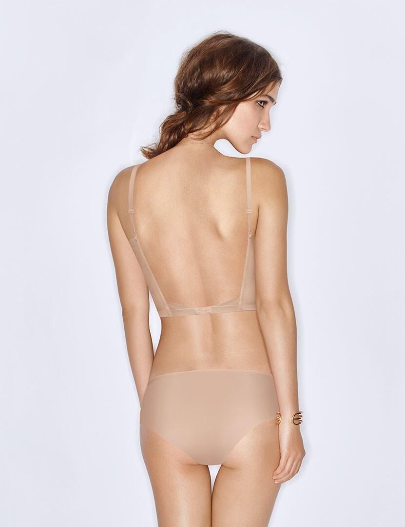 Wonderbra Ultimate Silhouette Backless Bra - Skin