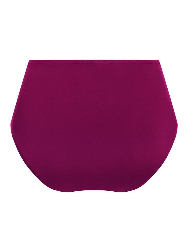 Amoena La Paz High Waist Bikini Brief - Dark Berry Pink
