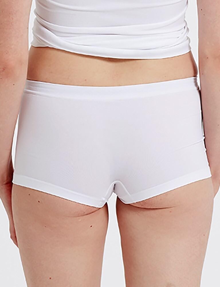 Pretty Polly Eco-Wear Seamfree Shorts - White