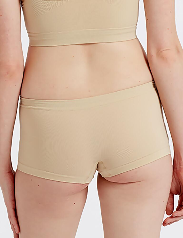 Pretty Polly Eco-Wear Seamfree Shorts - Nude
