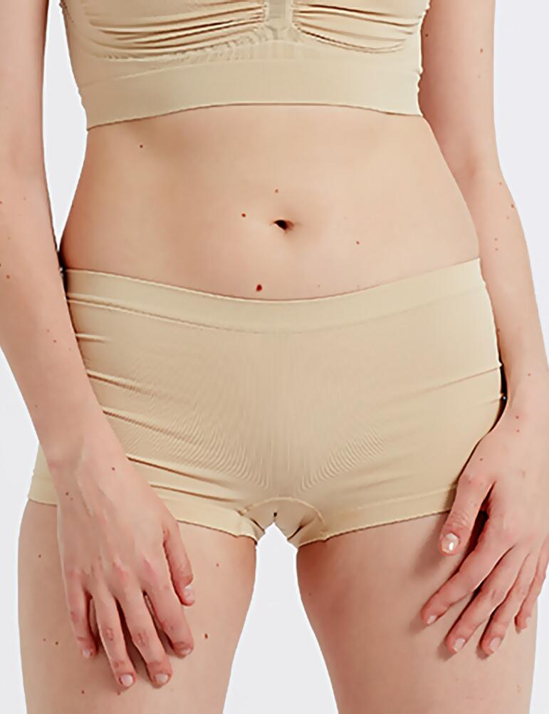 Pretty Polly Eco-Wear Seamfree Shorts - Nude