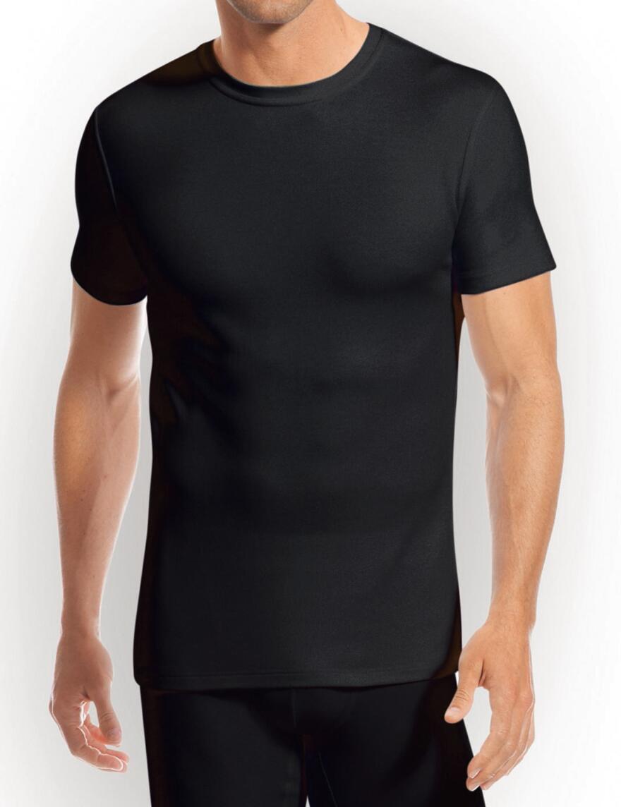 Jockey Modern Thermals 1550 T-Shirts - Black