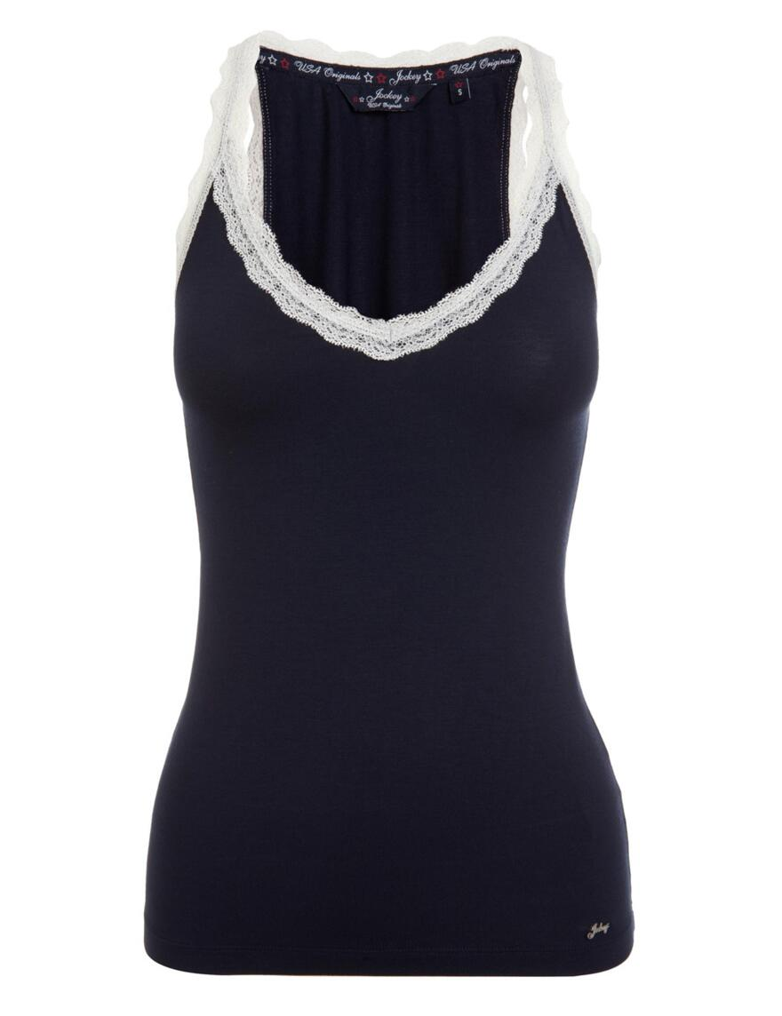 Jockey Womens Camisole Vest - Navy