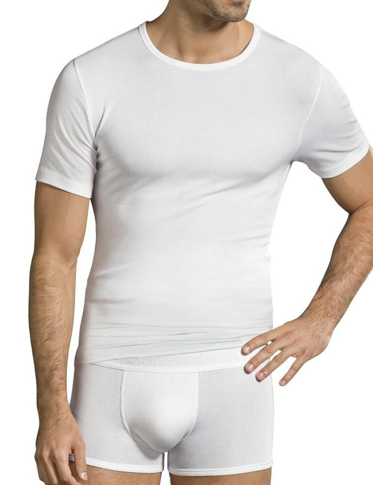 Jockey Premium Cotton Stretch T Shirt - White