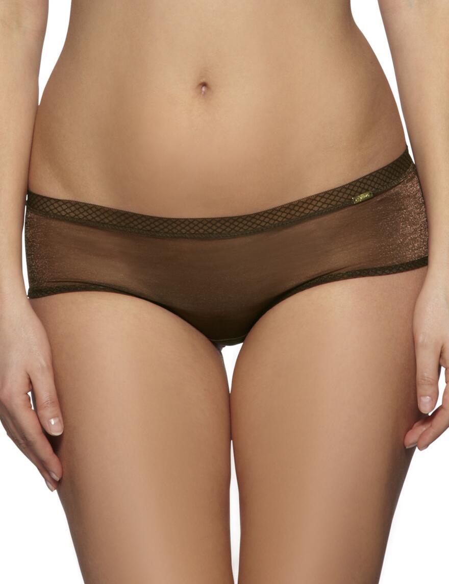 Gossard Glossies Shorts - Rich Brown