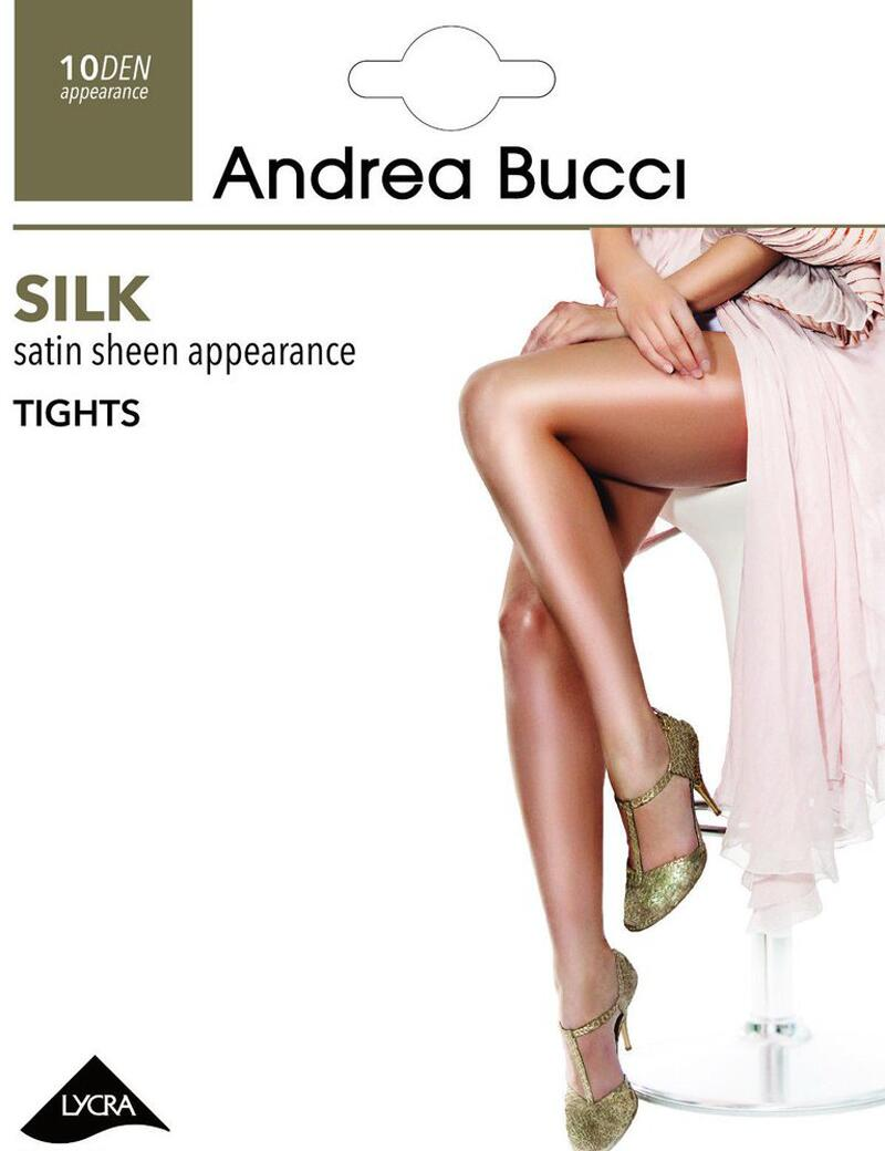 Andrea Bucci Silk Sheer Tights - 10 Denier - Navy