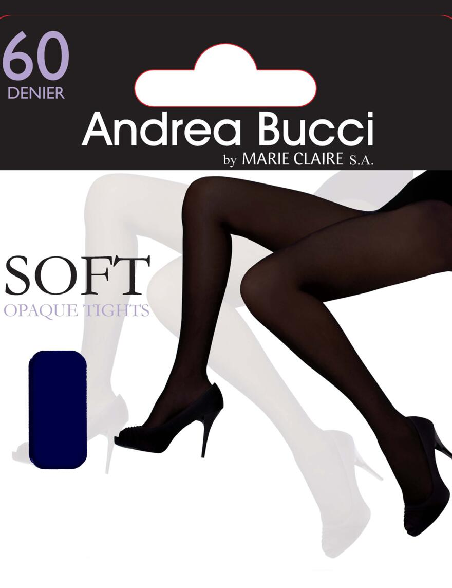 Andrea Bucci 60 Denier Opaque Tights  - Navy