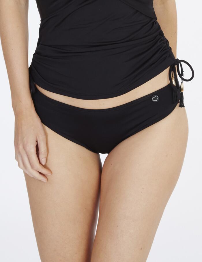 Lepel Lagoon Classic Bikini Bottoms  - Black